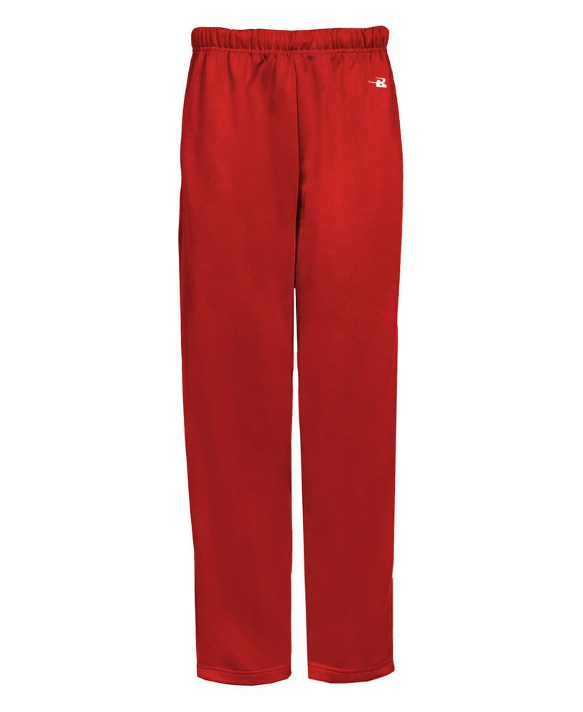 Badger BG2478 - Youth Poly Open Bottom Sweatpant