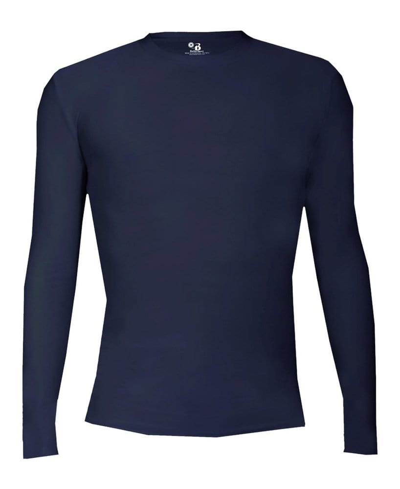 Badger BG2605 - Youth Pro-Compression Long Sleeve Crew