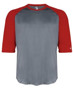 Badger BG4133 - Adult B-Baseball Tee