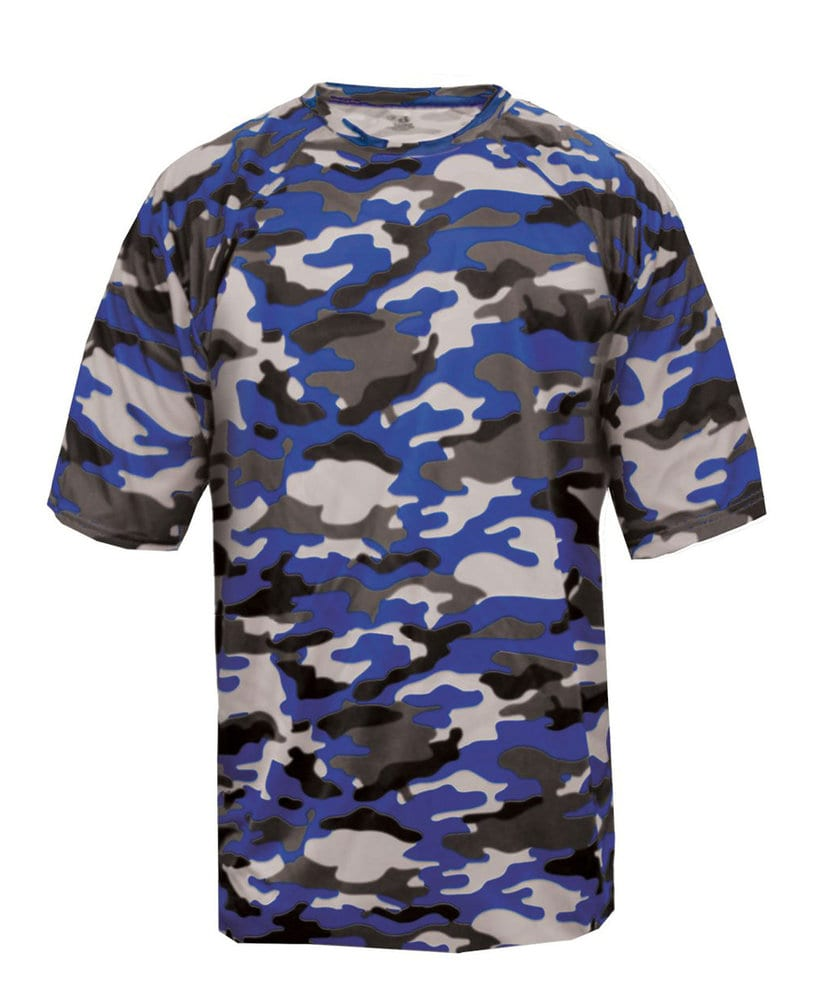 Badger BG4181 - Adult Camo Tee