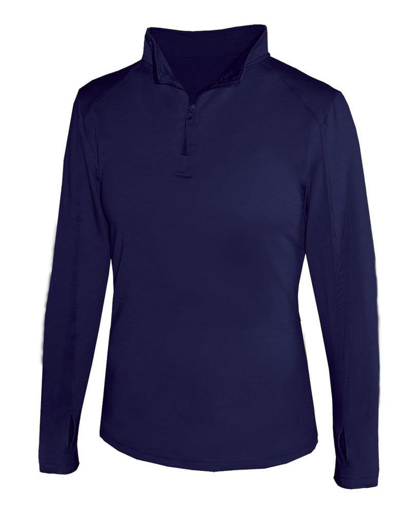 Badger BG4286 - Ladies' Lightweight 1/4 Zip Pullover