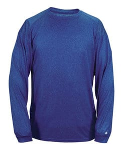 Badger BG4304 - Adult Pro Heather Long Sleeve Tee