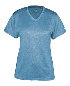 Badger BG4362 - Ladies Pro Heather V-Neck Tee
