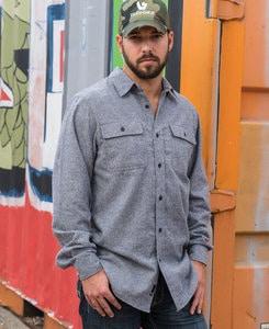 Burnside BN8200 - Adult Solid Woven Flannel Shirt