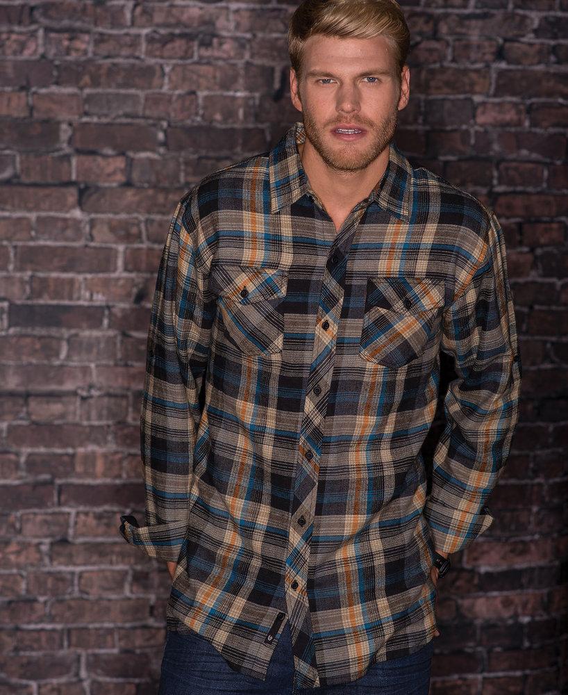 Burnside BN8210 - Woven Plaid Flannel