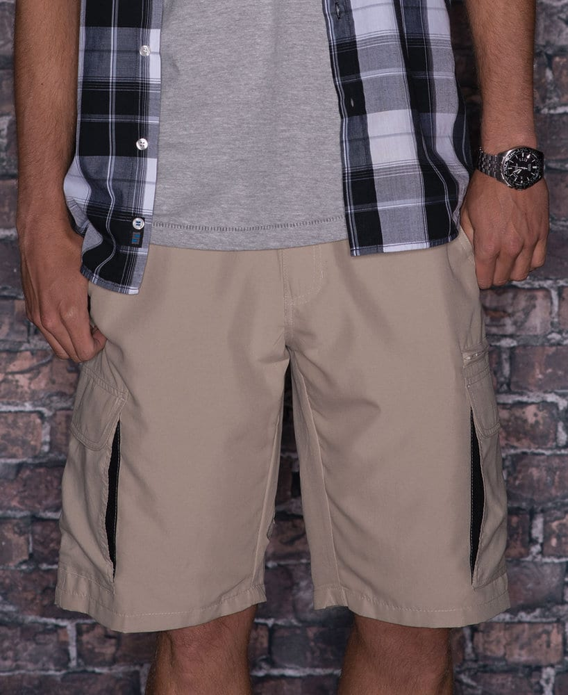 Burnside BN9803 - Adult Micro Fiber Cargo Short