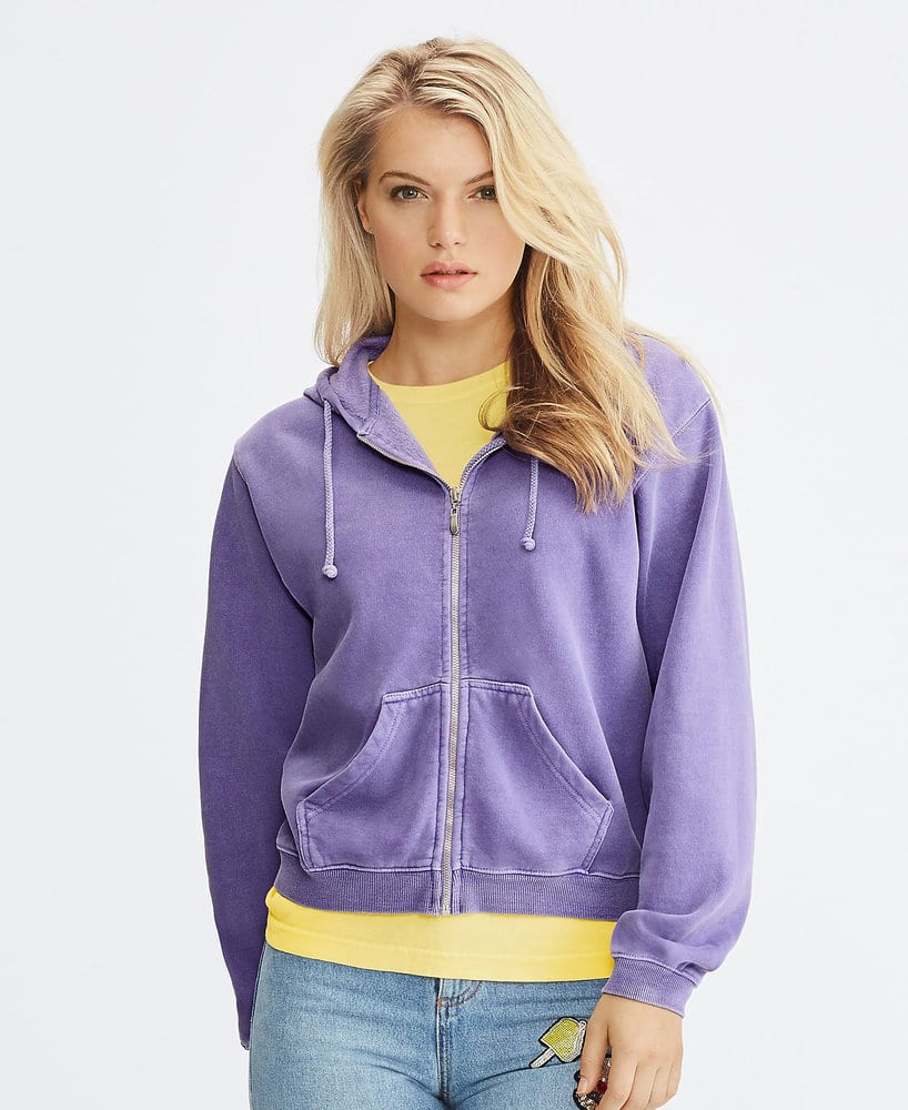 Comfort Colors CC1598 - Ladies' Full Zip Hooded Fleece
