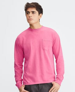 Comfort Colors CC4410 - Adult Heavyweight Ring Spun Long Sleeve Pocket Tee
