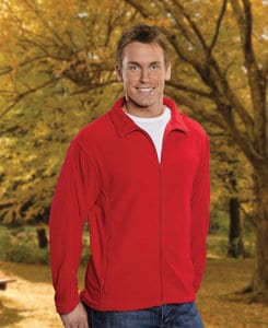 FeatherLite SP3301 - Featherlite Adult Full Zip Micro Fleece Jacket