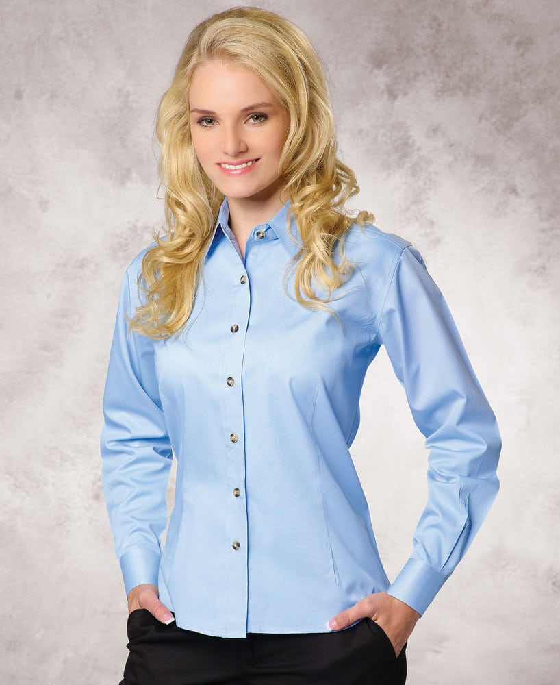 FeatherLite SP5283 - Featherlite Ladies' Performance Long Sleeve Teflon Twills