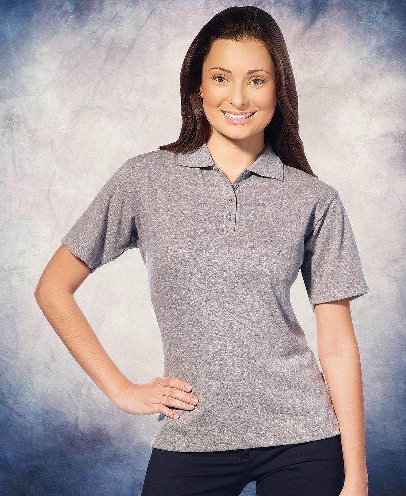 FeatherLite SP5330 - Featherlite Ladies' Platinum Pique Sport Shirt
