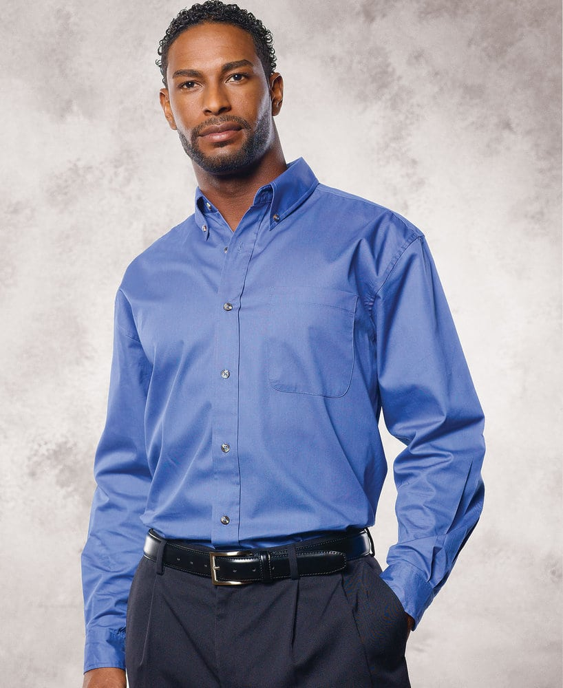 FeatherLite SP7281 - Featherlite Adult Performance Teflon Long Sleeve Twill Tall