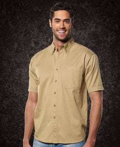 Sierra Pacific SP0201 - Sierra Pacific Adult Short Sleeve Twill