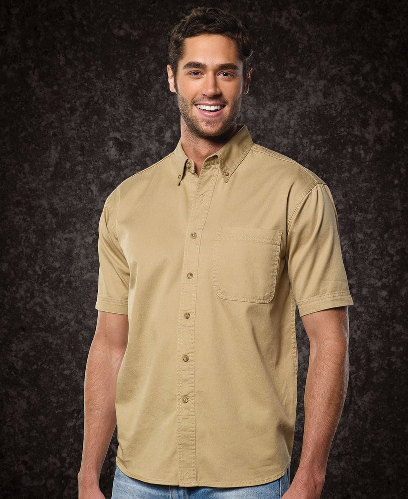 Sierra Pacific SP6201 - Sierra Pacific Adult Short Sleeve Twill Tall