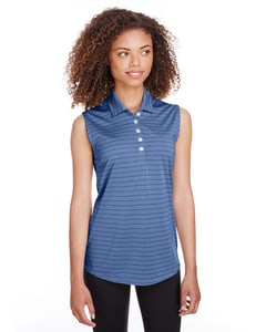 Puma Golf 597222 - Ladies Rotation Stripe Sleeveless Polo