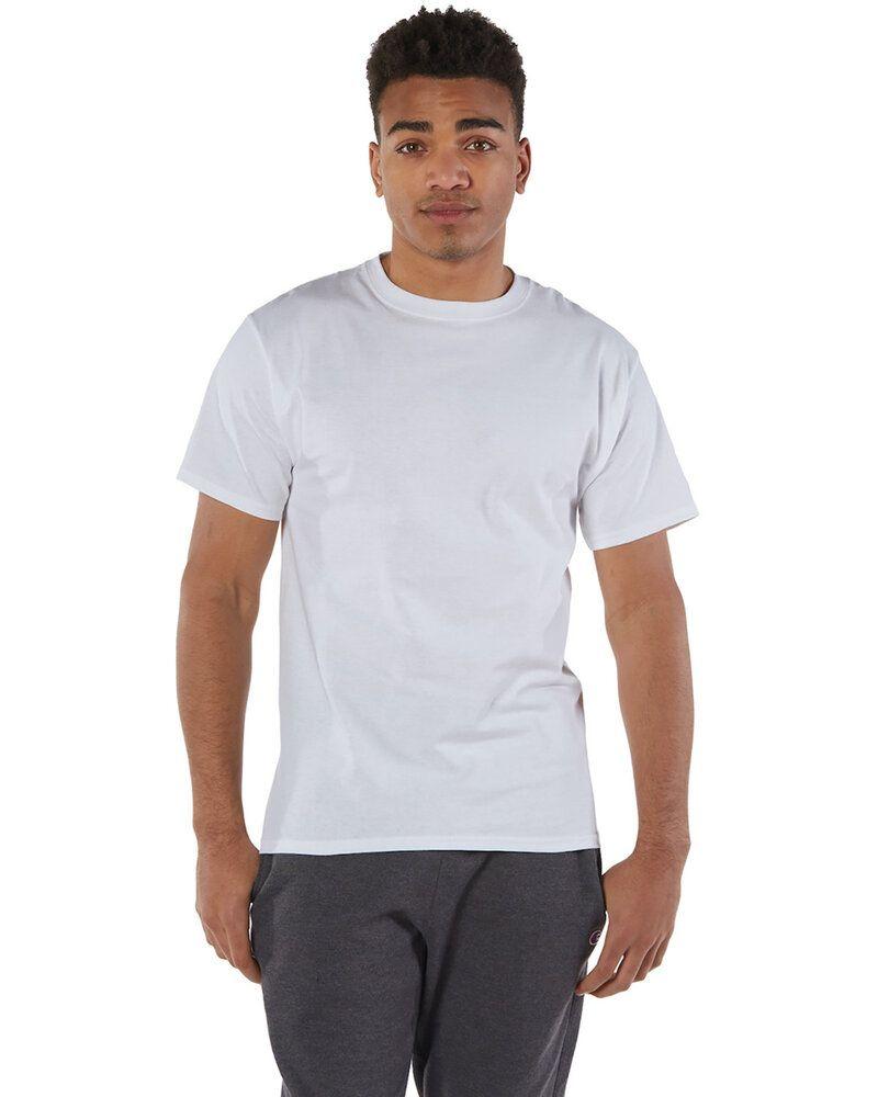 Champion T525C - T-shirt à manches courtes 6 Oz. Short-Sleeve T-Shirt
