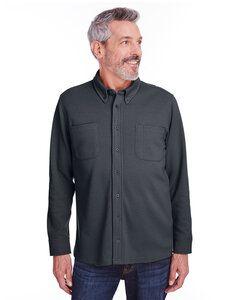 Harriton M708 - Veste chemise en polaire Stain Block Pique pour adulte