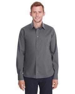 Devon & Jones DG561 - Mens Crown  Collection Stretch Broadcloth Untucked Shirt