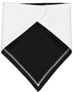 Rabbit Skins RS1012 - Bavoir à bandana en jersey de qualité supérieure pour bébé