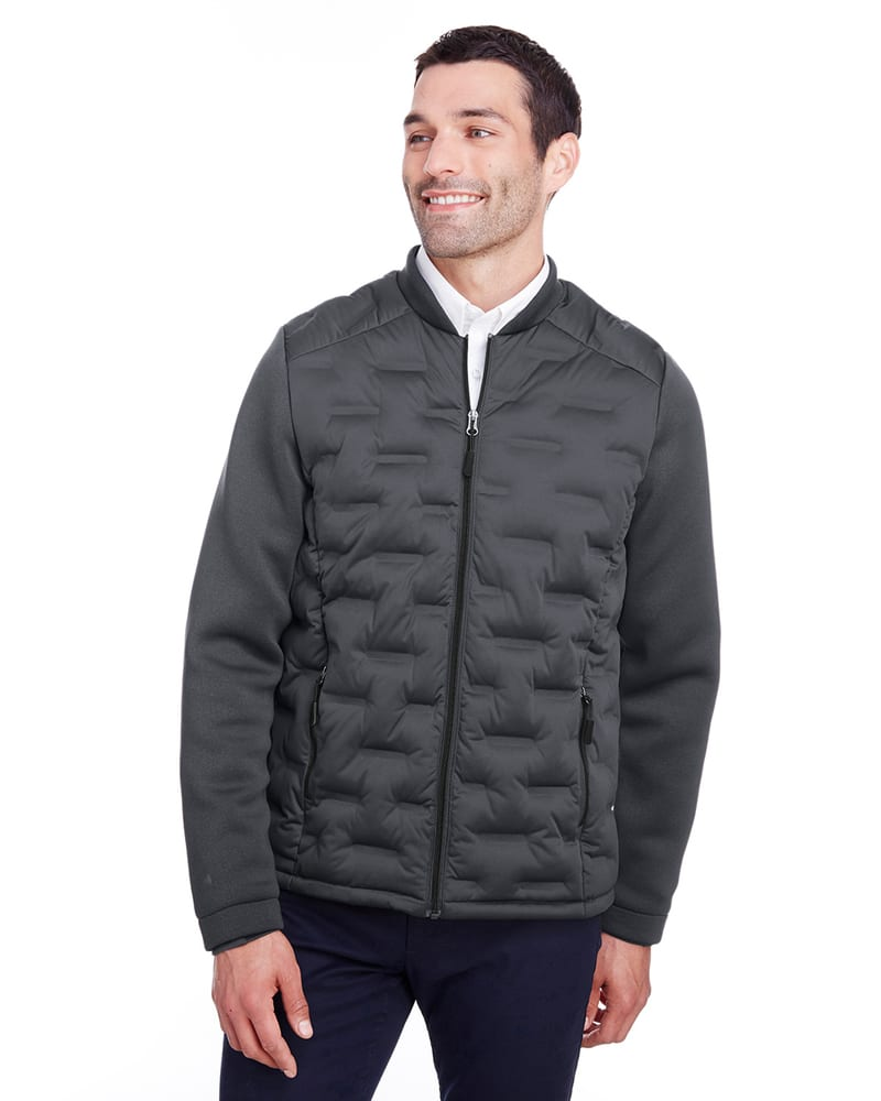 North End NE710 - Men's Pioneer Hybrid Bomber Jacket