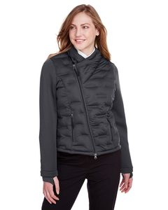 North End NE710W - Ladies Pioneer Hybrid Bomber Jacket