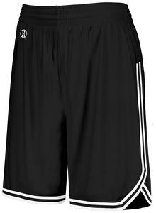 Holloway 224377 - Ladies Retro Basketball Shorts
