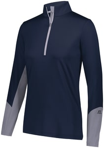 Russell 401PSX - Ladies Hybrid Pullover