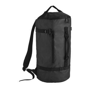 Sols 02927 - Coated Canvas Backpack Carbon