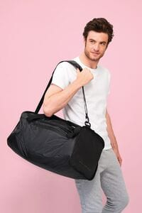Sols 02926 - Chrome Coated Canvas Sports Bag