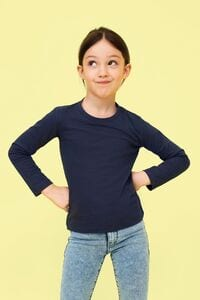 Sols 02947 - Kids' Long Sleeve T Shirt Imperial Lsl