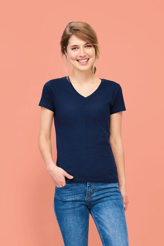 Sol's 02941 - Dames T Shirt Met V Hals Imperial