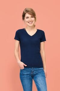 Sols 02941 - Damen V Neck T Shirt Imperial