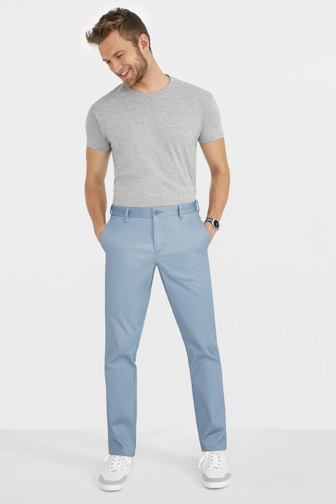 Sol's 02917 - Men'S Satin Stretch Trousers Jared
