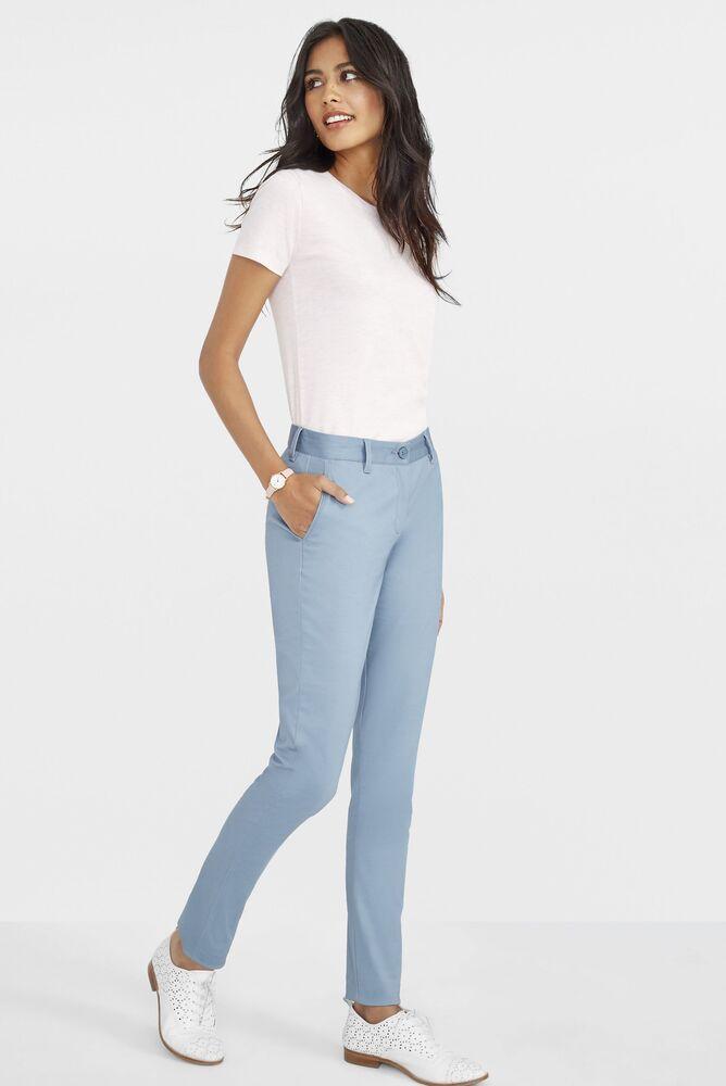Sol's 02918 - Pantalon Stretch En Satin Femme Jared