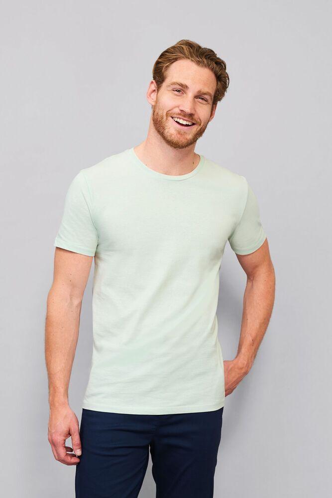 Sol's 02855 - Heren Nauwsluitend Jersey T Shirt Met Ronde Hals Martin
