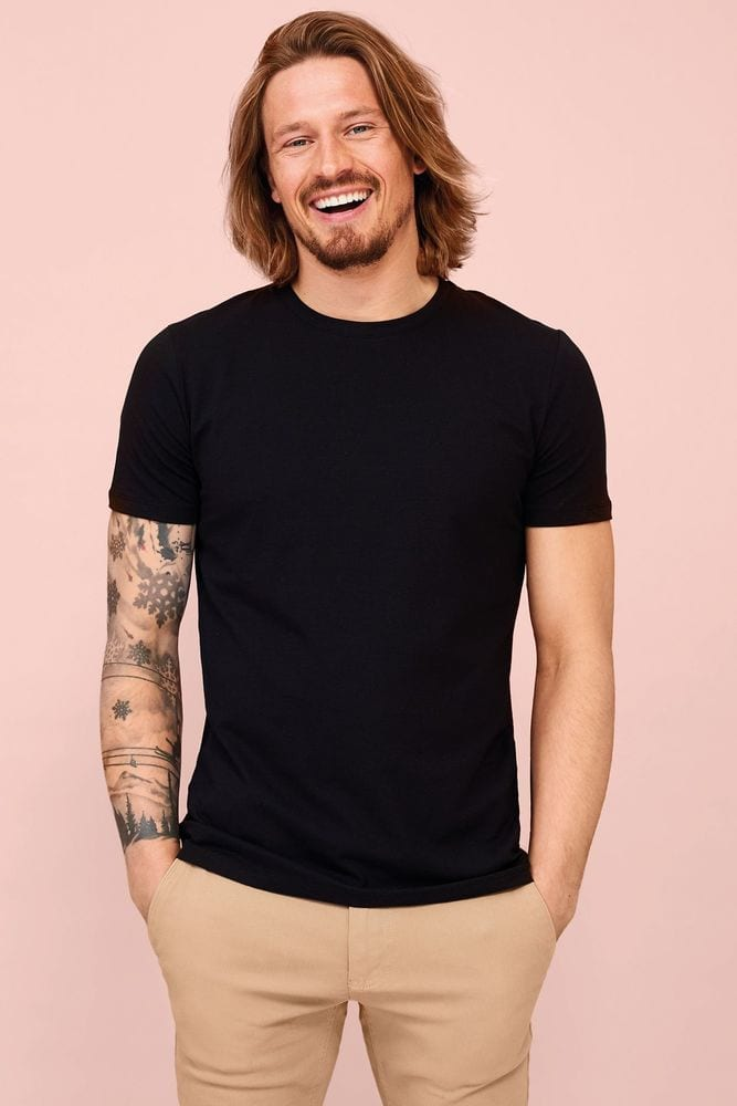 Sol's 02945 - Men's Round Neck T Shirt Millenium