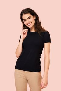 Sols 02946 - Womens Round Neck T Shirt Millenium