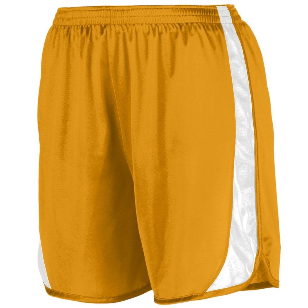 Augusta Sportswear 328 - Youth Wicking Track Short With Side Insert