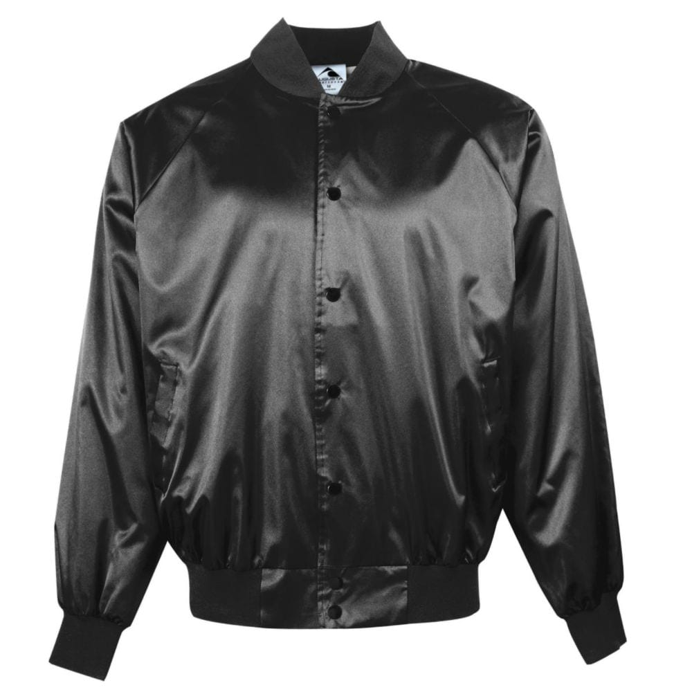 Augusta Sportswear 3600 - Satin Baseball Jacket/Solid Trim
