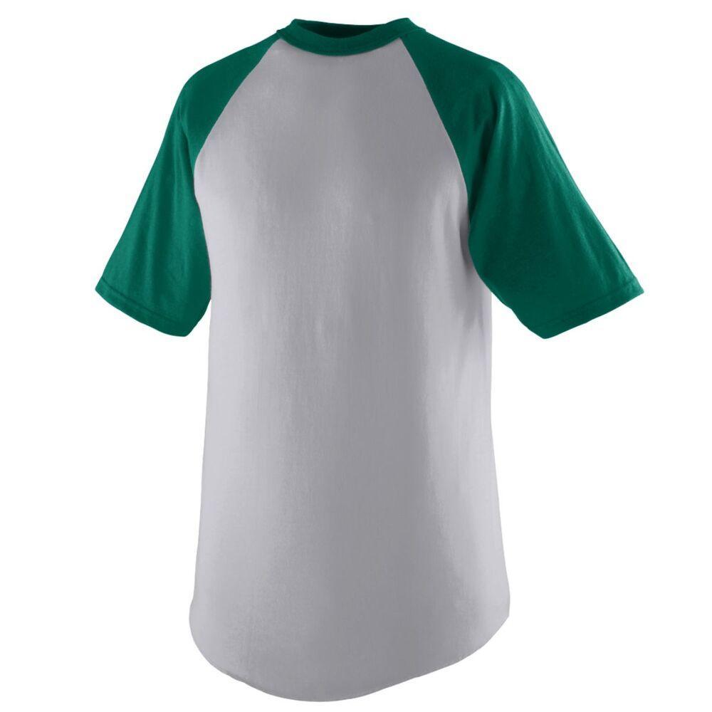 Augusta Sportswear 424 - Remera Jersey de Béisbol de manga corta para jóvenes
