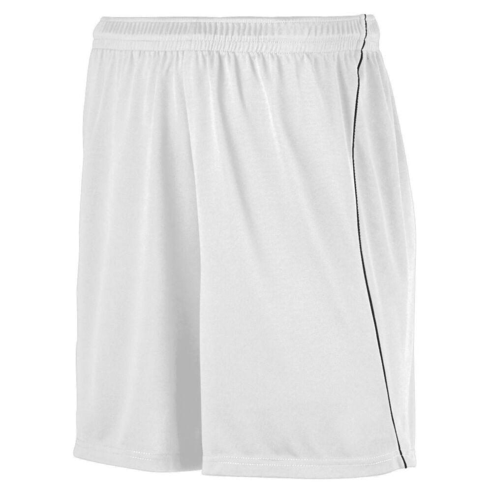 Augusta Sportswear 460 - Short de fútbol absorbente con ribete