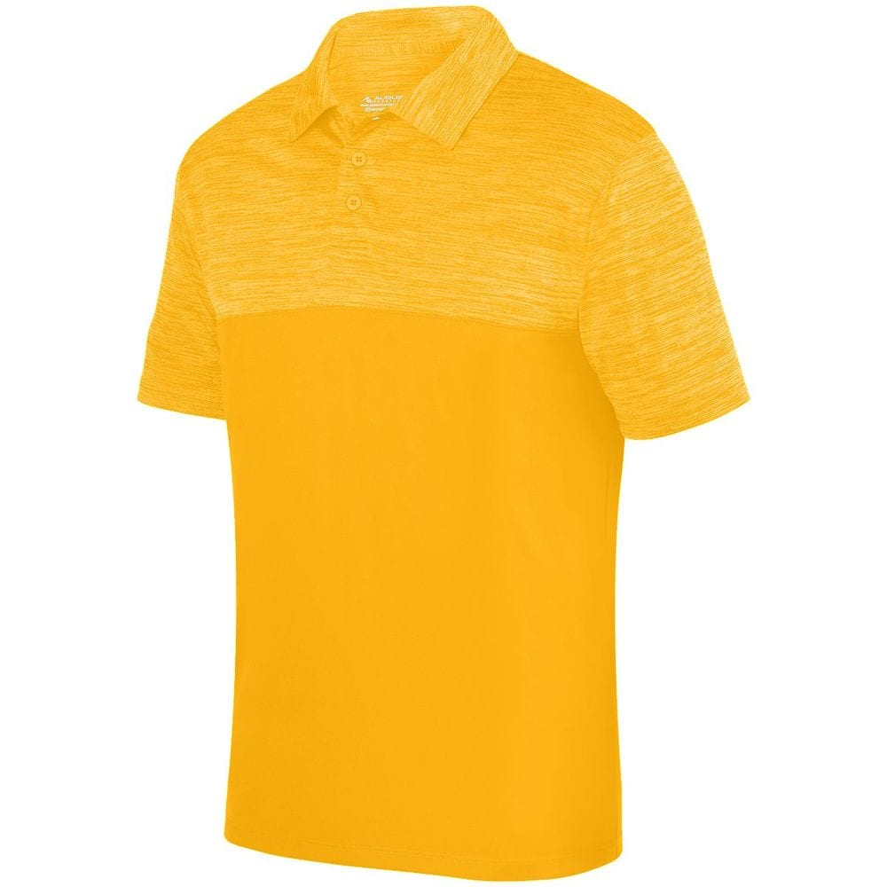Augusta Sportswear 5412 -  Remera Polo Shadow con tonos Heather