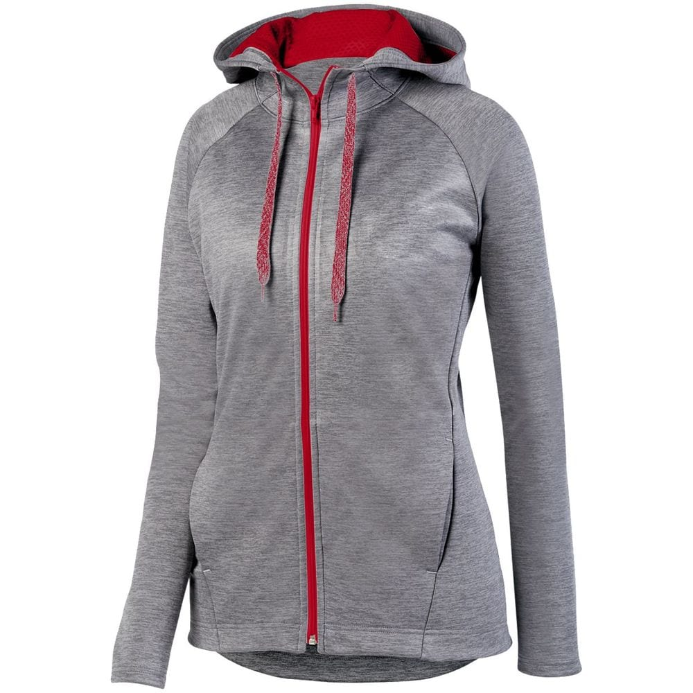 Augusta Sportswear 5558 - Ladies Zoe Tonal Heather Full Zip Hoodie