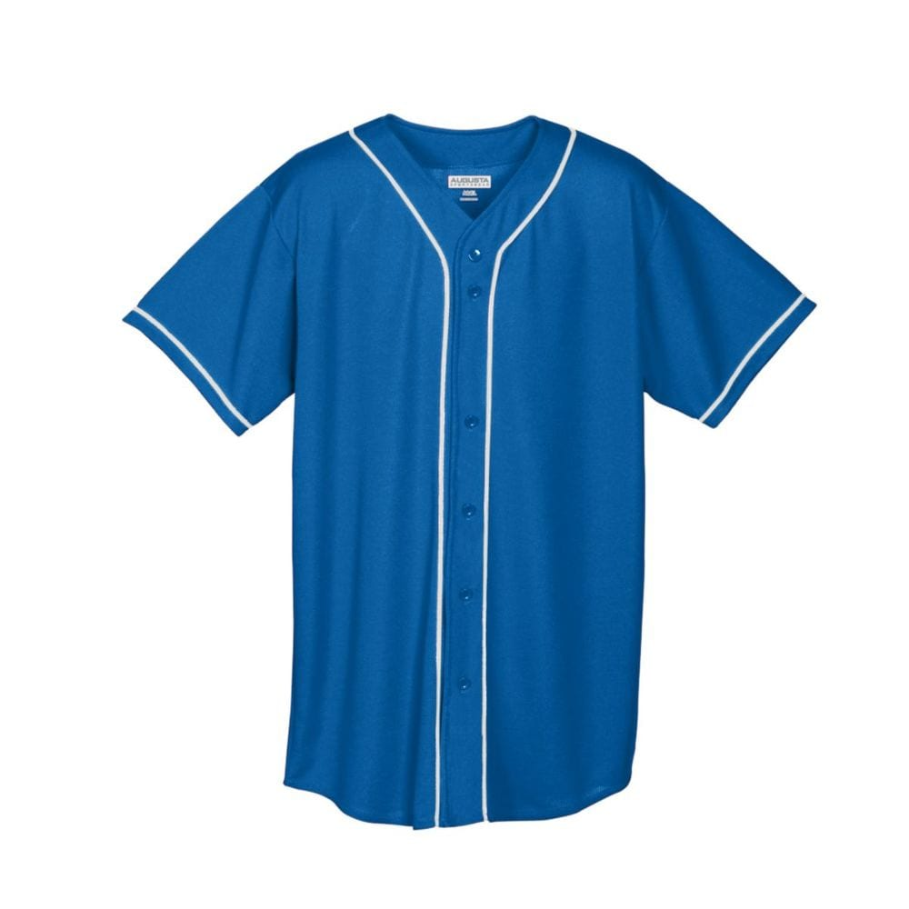 Augusta Sportswear 594 - Youth Wicking Mesh Button Front Jersey