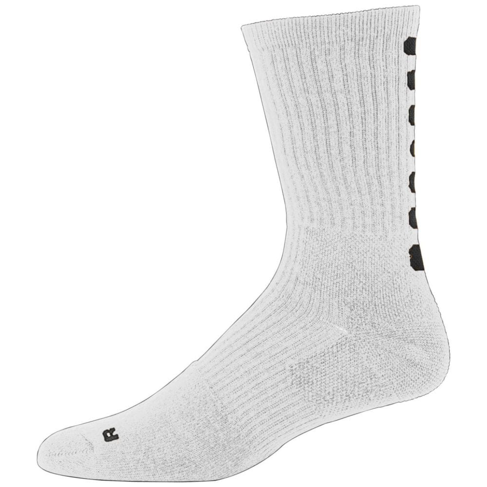 Augusta Sportswear 6091 - Intermediate Color Block Crew Sock