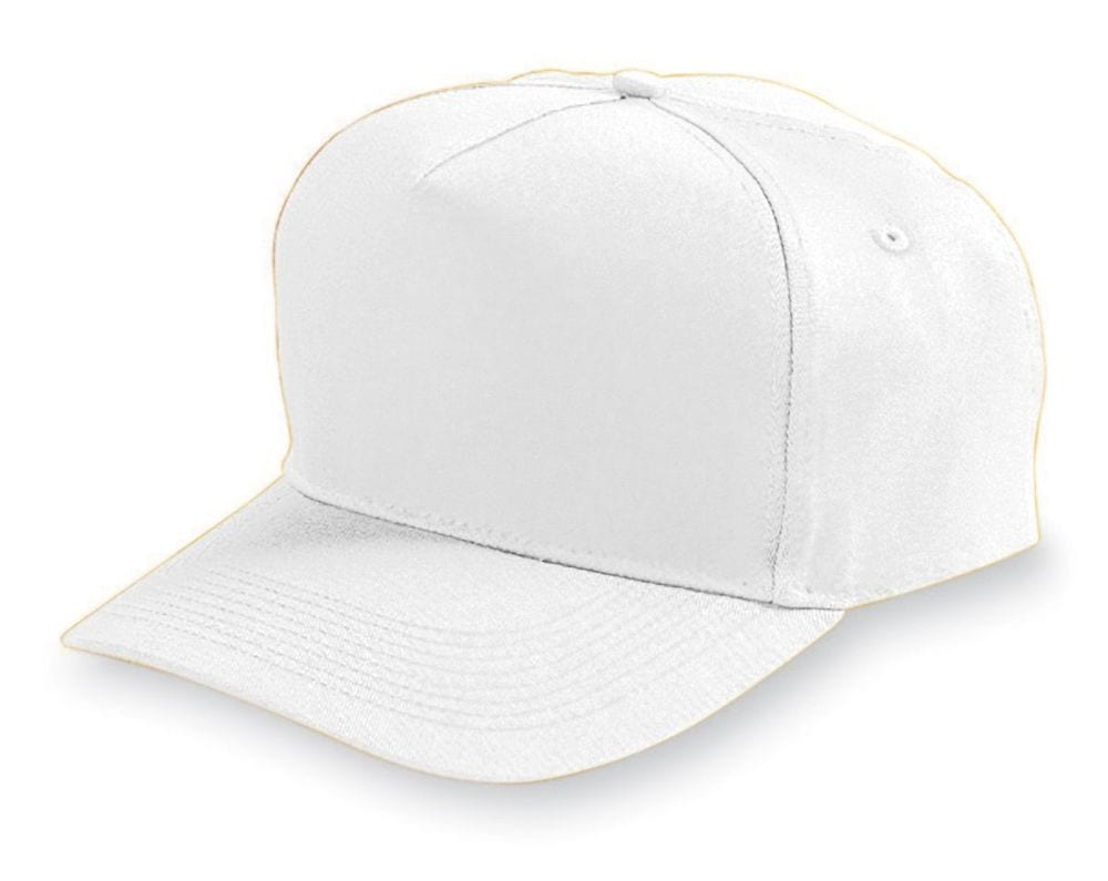 Augusta Sportswear 6207 - Youth Five Panel Cotton Twill Cap