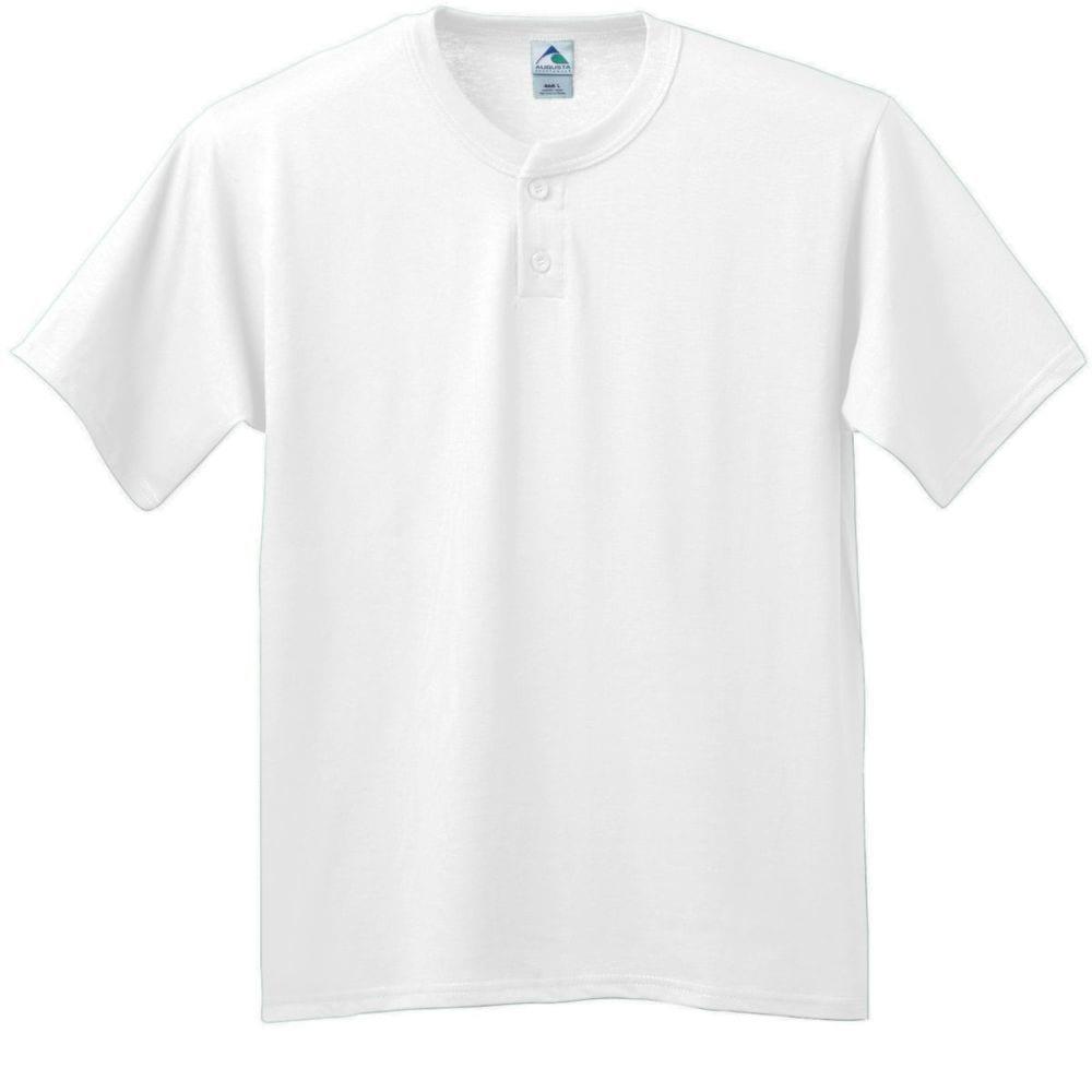 Augusta Sportswear 643 - Six Ounce Two Button Baseball Jersey