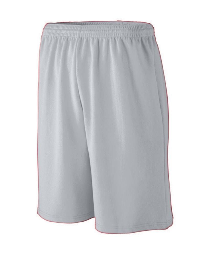 Augusta Sportswear 809 - Youth Longer Length Wicking Mesh Athletic Short