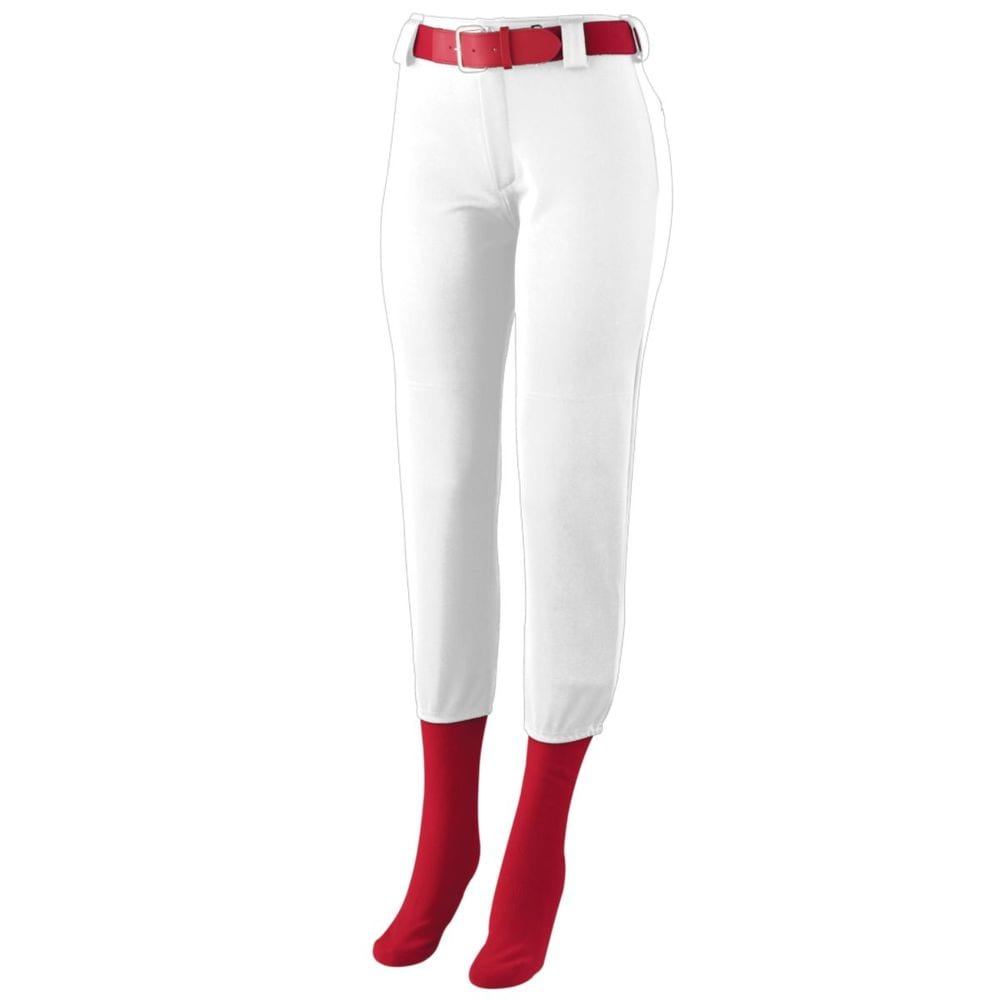 Augusta Sportswear 1241 - Girls Low Rise Homerun Pant