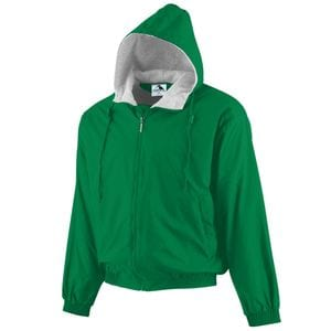 Augusta Sportswear 3281 - Youth Hooded Taffeta Jacket/Fleece Lined